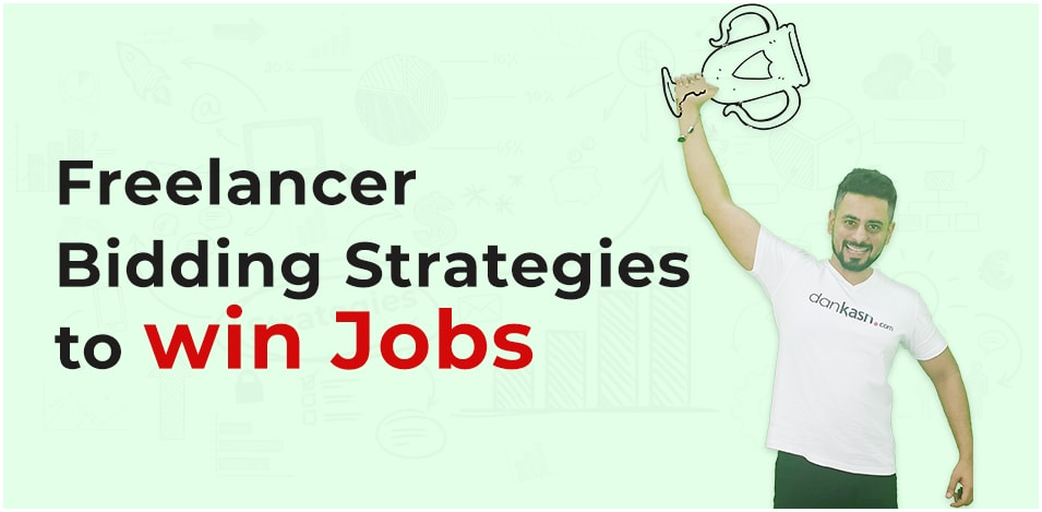 Freelancer bidding strategies to win jobs