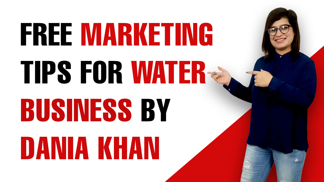 Free Marketing Tips For Water Business