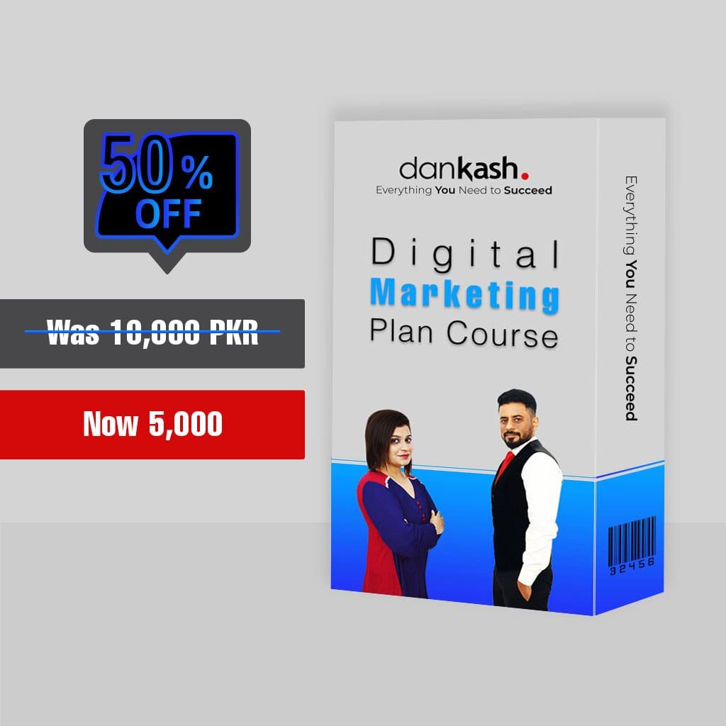 Digital Marketing Plan Course