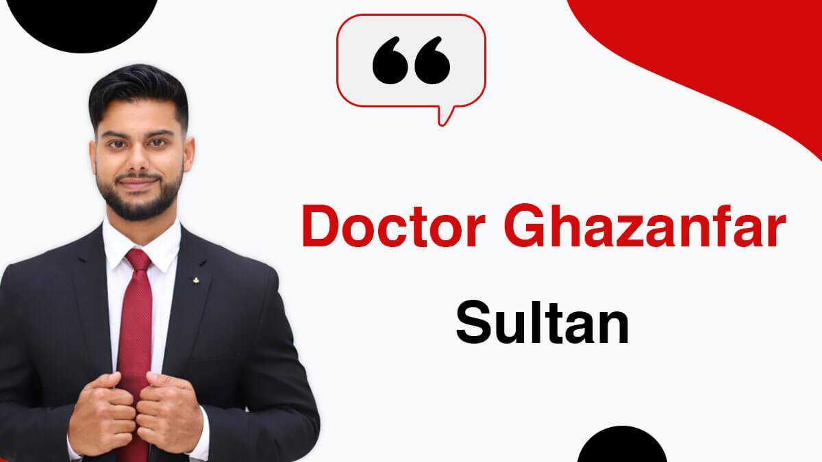 Dr Ghazanfar Sultan