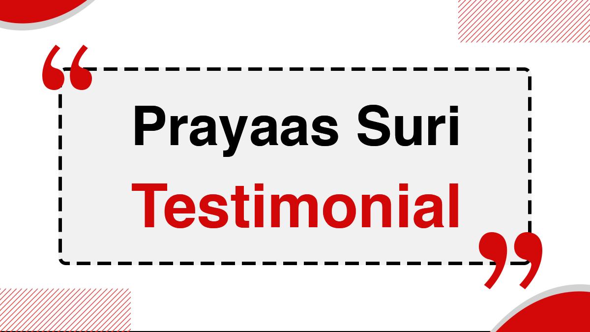 Prayaas Suri 2