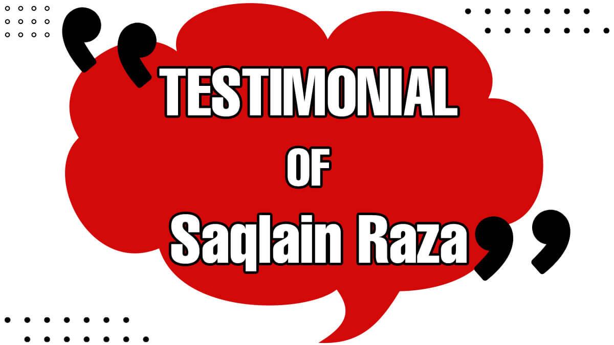 Saqlain Raza