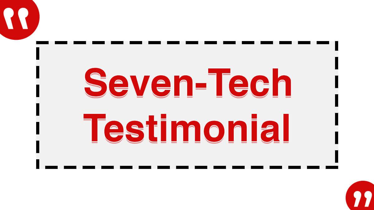 Seven tech Testimonial 2
