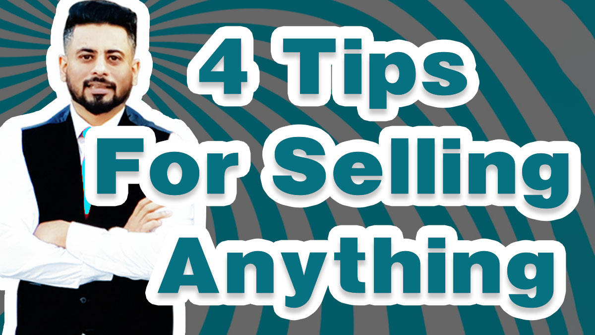 4 tips for selling