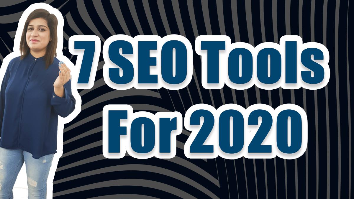 7 seo tools
