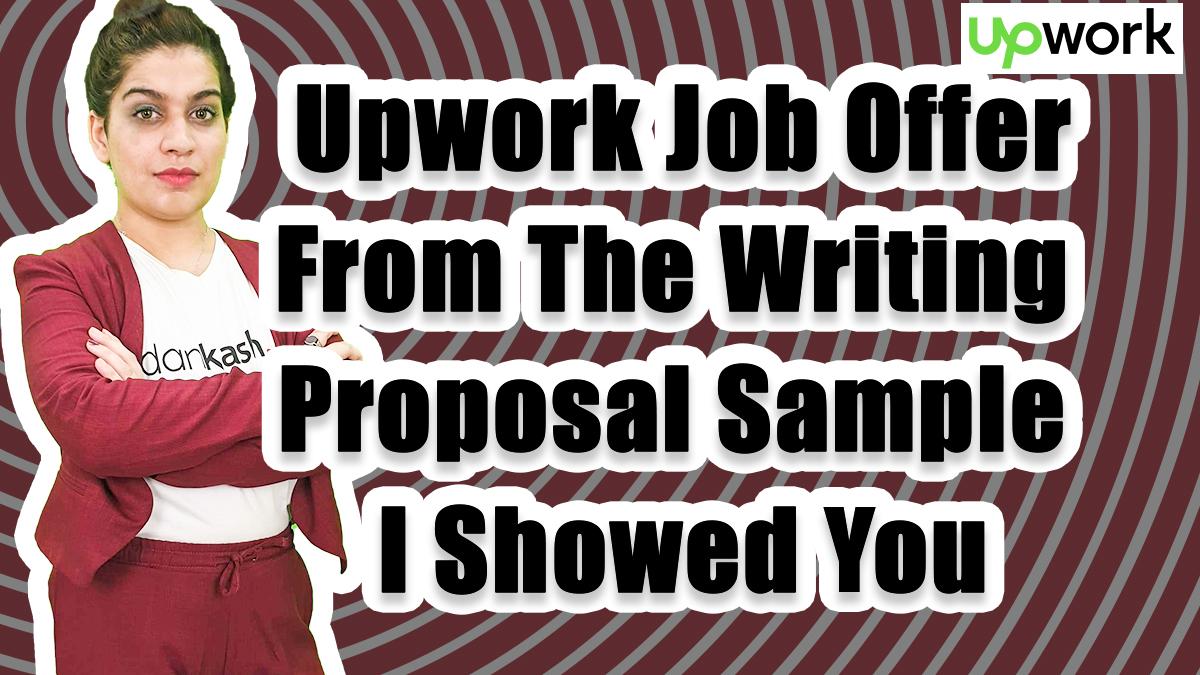 upwork job offer